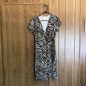 Charter club Zebra print dress